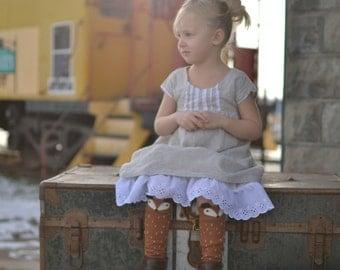Girl's Boho Classic Dress PDF Sewing Pattern