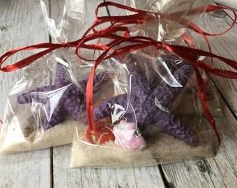 Starfish Chocolate Favors - Beach Wedding - Beach Party Favor - Nautical Chocolate Shell Favor - Chocolate Starfish - Nautical Wedding Favor