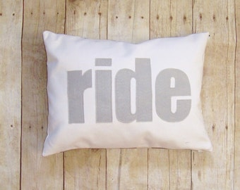 ride pillow cover - 30 colors - equestrian pillow - horse pillow - horse riding pillow - cushion - equestrian pillow - horse lover gift