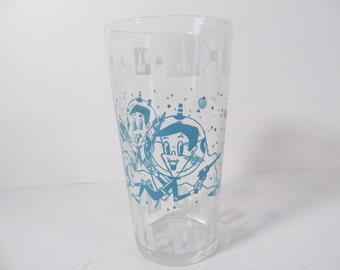 Hazel Atlas Character Glass Astronaut Tumbler