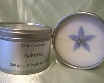 Gabriella Soy Wax Candle Tin