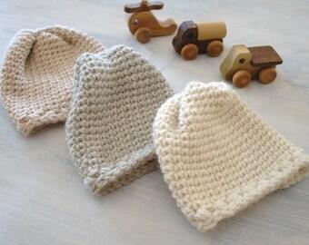 Baby Beanie Pattern Crochet Baby Hat Crochet Hat Pattern Easy Newborn Hat Pattern Crochet Hat DIY Baby Hat - Sugar Sprout Baby Hat P162