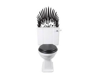 Toilet Decal inspired by Game of Thrones Swords Sticker