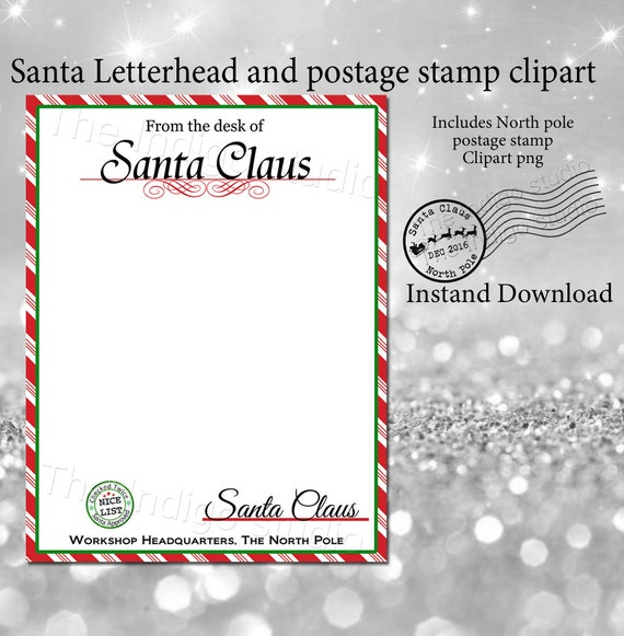 il_570xN.1046426528_n2ir Official Letter From Santa Template Stationery on for word, writing paper,