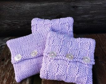 Natural Lavender pouches set of 3