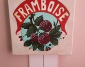 Vintage French Raspberries Special Order for Whitney