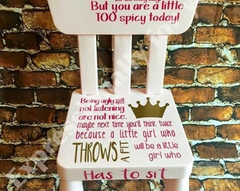 Time Out Chair With Timer time out chair girls personalized time out stool timeout bench