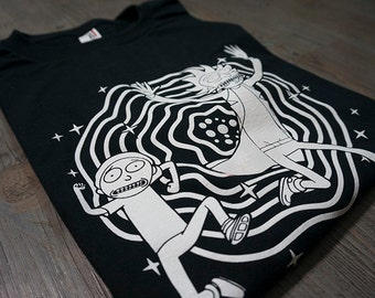 Rick And Morty T Shirt - Rick And Morty Tshirt From The Televison Series
