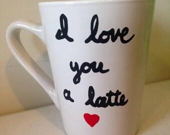 Coffee Mug - I Love You A Latte