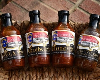 Cheshire Pork All Natural BBQ Sauce