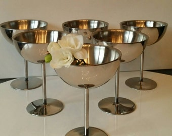 Stainless steel ice cups