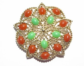 Vintage 60s Sarah Coventry Acapulco Brooch