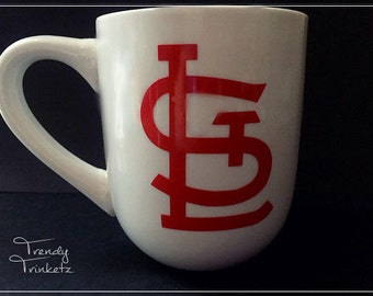 STL Coffee Mug, Saint Louis Coffee Mug, St. Louis Coffee Mug, Baseball Coffee Mug, Coffee Cup