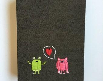Monsters in Love Neon