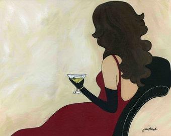 Relaxing Martini PRINT