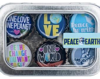 Peace on Earth Magnet Set