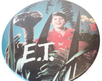 Vintage E T Pin Original Oversize Collectible Movie Memorabilia