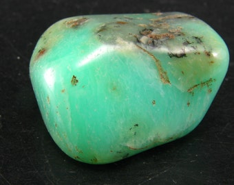 Rich Green Chrysoprase Polished From Australia - 1.3""
