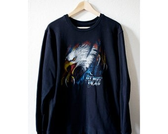 Black Eagle Oversized Sweater