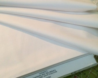 RJR OPTIC WHITE ~ RJR9617-33   Cotton Supreme Cotton ~  By The Yard