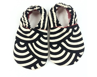 Babies Cloth Shoe with Minky lining- various designs