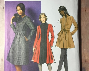 Size 18W/20W/22W/24W Belt,  Coat and Jacket. Butterick 5966. Uncut sewing pattern.