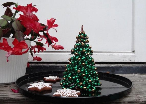 Christmas Decoration Christmas Tree Tutorial Beaded