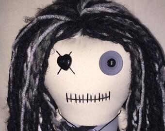 """Creepy n Cute Zombie Doll - """"Bats A-Go-Go"""" (D)"""