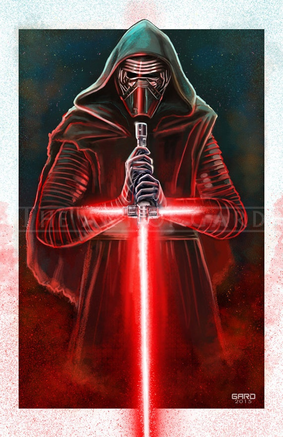 Kylo Ren (The Ren Knight) 11X17