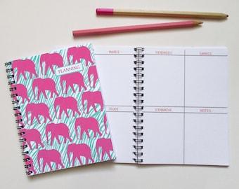 Agenda / A 6-week schedule spiral