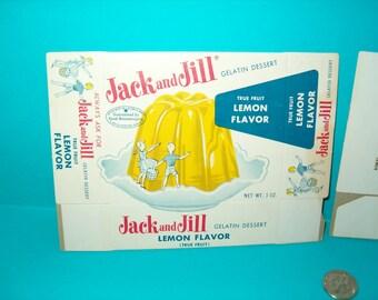 Jack and Jill gelatin box