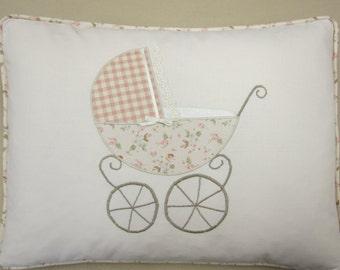 Personalized New Baby - Vintage Pram design