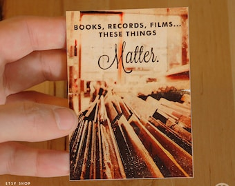 High Fidelity Movie - ACEO ATC Mini Print Card - Pick your Size