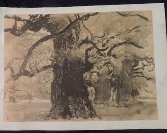 Leon Wyczolkowski (1852 - 1936), Landscape, Print