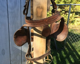 Vintage Leather Horse Bridle