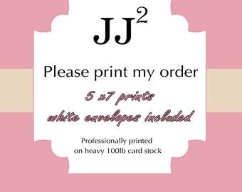 Pase print my order/ sets of 12/printing services/printed invitations