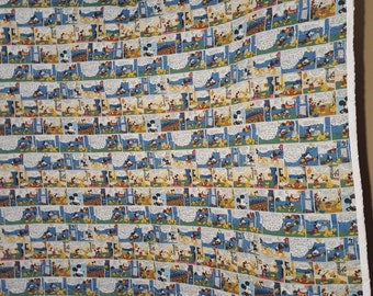 mickey mouse comic quilt