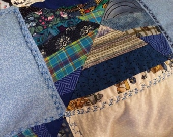 Baby quilt or lap blanket
