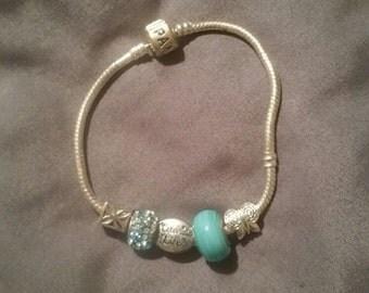 Celebrate life pandora style charm bracelet