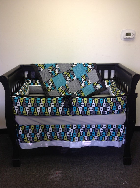 4 Piece Guitar Crib Set by BabyTwin