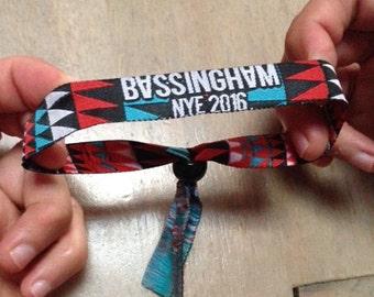 BASSINGHAM NYE wristbands