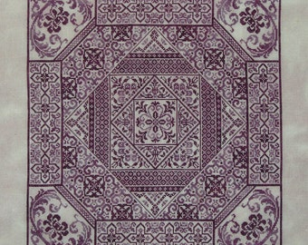 Shades of Plum PDF chart by Northern Expressions Needlework