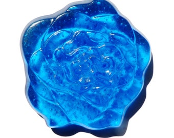 "Living Memories or Crematory Memorial Cast Art Glass ""Memory Roses"" Packages featuring 3""Full Bloom Roses"