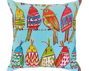 Cute Birds Cushion Cover. Pillow Cover
