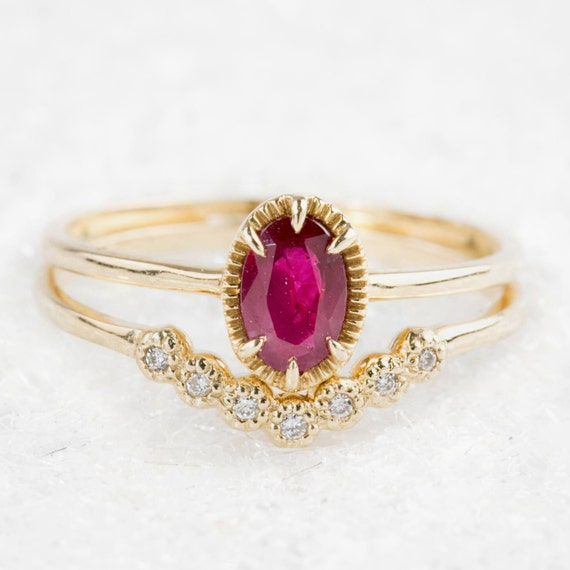 like this item - Ruby Wedding Ring