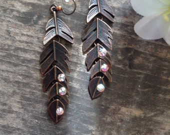 Get Feathered Earrings