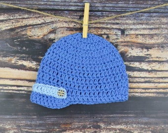 Baby Hat - Blue - Baby Accessories