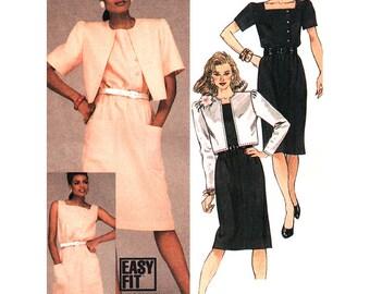 McCall's Sewing Pattern 9002 Misses' Jacket, Dress  Size:  8  Uncut
