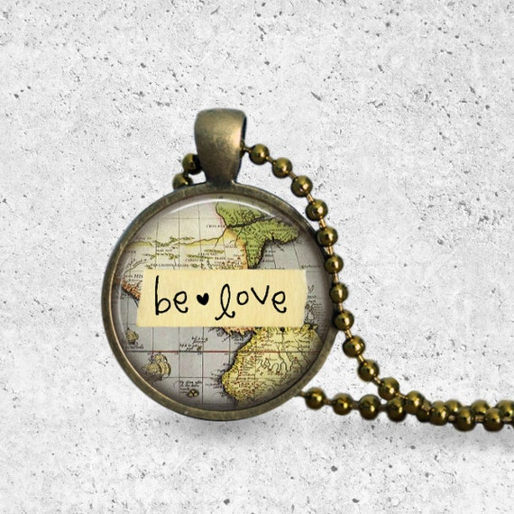 Love Necklace, Love Key, Be Love, Key Necklace, Key Jewelry, Key Pendant, Love Pendant, Key Love, Love, Greatest Of These, Go Be Love, Gift