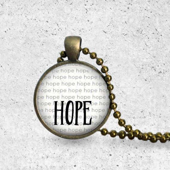 Mother's Day Gift, Hope Necklace, Best Friend Necklace, Hope Pendant, Miscarriage Gift, Infertility Necklace, Adoption Necklace, Adoption